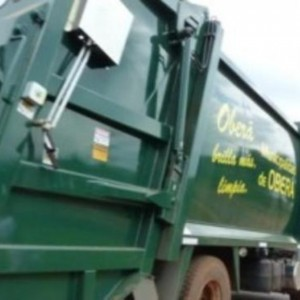 camion municipal basurero