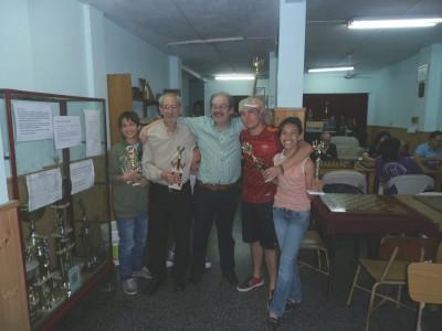 Franco Munch, Miguel Alvarez Urrutia, Humberto Paiva, Carlos Cantero, Ivette Márquez