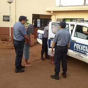 Detenidos agresión  a Policia