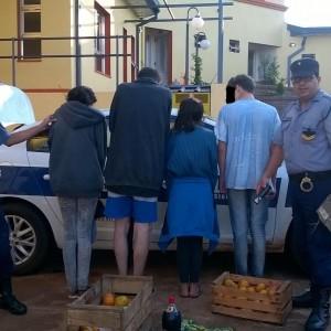 Jovenes demorados por el robo a la verduleria