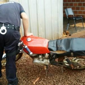 Moto reconocida por el propietario