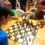 El ajedrez obereño mueve sus piezas