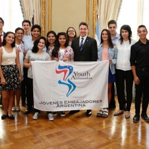 14 Jóvenes Embajadores Argentinos