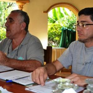 Juan Esteban García (Viceprdte) y Ernesto Martins (Presidente)