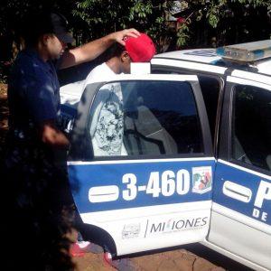 detenido por robo de motocicleta17-04-16
