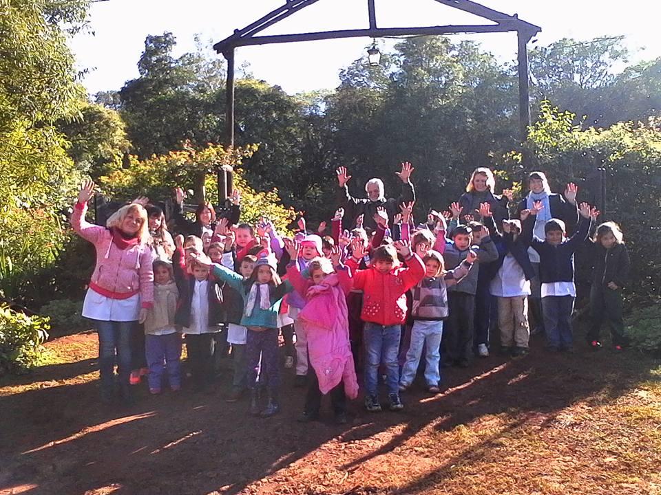 Actividades conmemorando el d a del medio ambiente en el for Actividades en el jardin