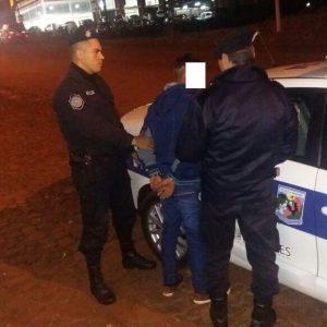 detenido por intentar robar en una bailanta