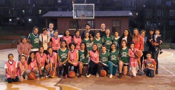 Campeonas de Basquet Femenino