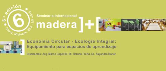 Flyer Madera  sexta edición 2016