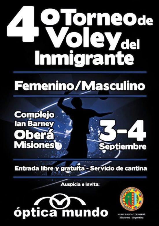 Voley - Torneo del Inmigrante