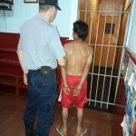 Un hombre fue detenido por golpear y amenazar a su concubina