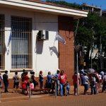 Continúa la reparación de los cajeros automáticos en el Banco Nación de Oberá