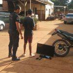 La Policía recuperó elementos robados y demoró a un menor en Oberá