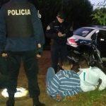 El Comando Radioeléctrico detuvo a dos jóvenes por el arrebato de un celular en Oberá