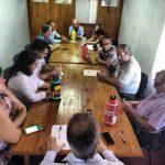Concejales obereños recibieron a dirigentes del Gremio UPCN