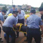 El intendente de Oberá socorrió a un accidentado