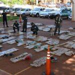 Decomisaron una carga de 728 kilos de marihuana en un campo recreativo de Campo Ramón
