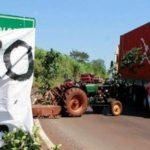 Tractorazo: productores se concentran frente al Parque de las Naciones para movilizarse a Posadas