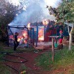 Incendio en zona Complejo Deportivo