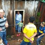 El municipio asiste a vecinos damnificados por a lluvia