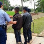 Se hicieron pasar por Policías  en un local de comidas y terminaron detenidos