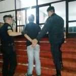 Ingresó armado y en estado de ebriedad  a un supermercado  y fue detenido por la Policía