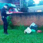 Recuperan elementos robados en la escuela del barrio San Miguel en Oberá
