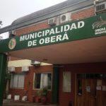 Informe de la Secretaría de Finanzas de la Municipalidad de Oberá