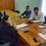El Concejo Deliberante de Oberá se reunió con la Dirección de Deportes de la Municipalidad