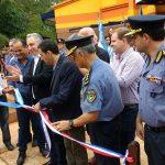 Inauguraron el nuevo edificio policial en Los Helechos