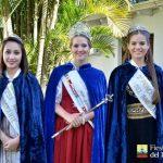 Reina y Princesas de los Inmigrantes presentes en Fiestas nacionales y en la Fenamilho