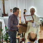 El Concejo Deliberante distinguió al Padre Andrés Smoli por su labor comunitaria