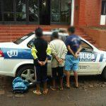 Menores demorados por averiguación de robo a una menor
