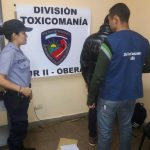 Golpe al narcomenudeo: la Policía secuestró 32 gramos de marihuana en Oberá