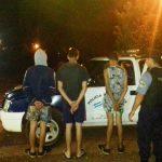 Tres menores fueron demorados por el hurto de un celular en Oberá