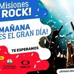 """Mañana es el Preselectivo """"Misiones Rock 2017"""" en el Parque de las Naciones"""