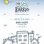 Se suspende la próxima edición de Con Vos en tu Barrio
