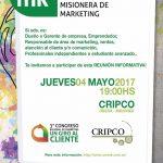 Reunión informativa sobre próximo Congreso de Marketing el jueves en la CRIPCO