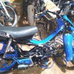 Secuestran una motocicleta abandonada y se investiga su procedencia