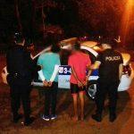 Tras un rápido despliegue la policía detuvo a dos menores por un robo calificado