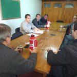 Los Concejales se reunieron con el Secretario de Hacienda Municipal