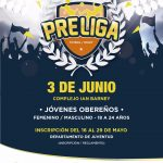 Inscripciones abiertas para participar de la Liga Provincial Juvenil