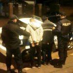Detienen a dos jóvenes y recuperan elementos robados en Oberá