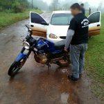 Recuperan una motocicleta robada y buscan al autor del hecho en Oberá