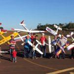 Aeromodelismo: Jornada de sol y mucha gente en Aeroclub