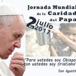 "El fin de semana ""Jornada Mundial de la Caridad del Papa"""