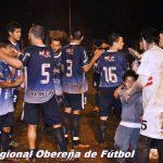 Atlético Oberá se quedó con la punta del Apertura