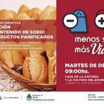 Reunión informativa para panaderías: Reducción del contenido de sodio en productos panificados