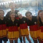 Nadadores obereños se destacaron en el regional de natación