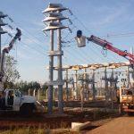 Se puso a prueba nueva subestación transformadora de 33 Kv en Panambí